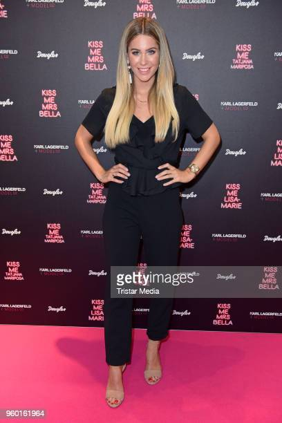 Mrs Bella during the 'Kiss Me Karl Limited Edition' Launch at Douglas Store on May 19 2018 in Berlin Germany