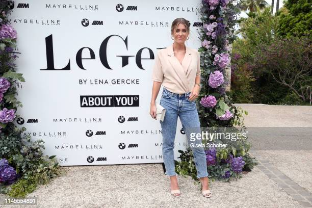 Mrs Bella during the photocall for the LeGer by Lena_Gercke x About You spring/summer collection THE COTE D'AZUR EDITION on May 22 2019 in Cannes...