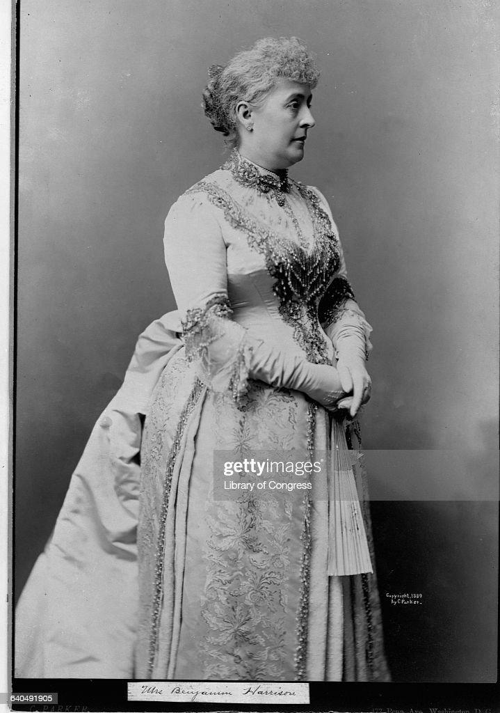 Mrs. Benjamin Harrison : News Photo