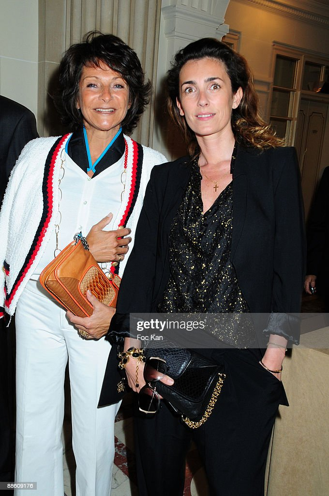 Mrs Bernard Weill and Mademoiselle Agnes attend the