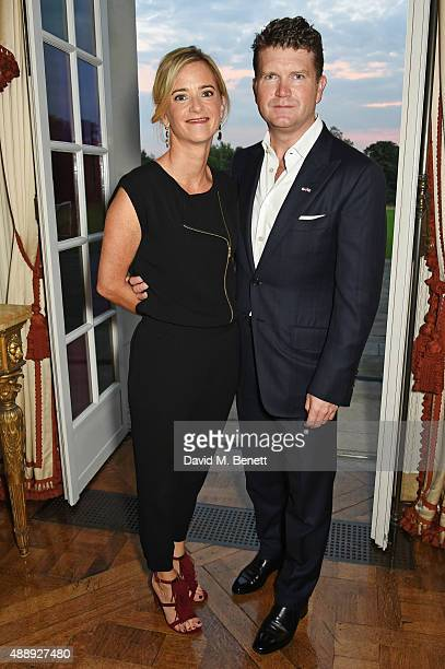 Mrs Brooke Brown Barzun and attends the London Fashion Week party hosted by Ambassador Matthew Barzun and Mrs Brooke Brown Barzun with Alexandra...