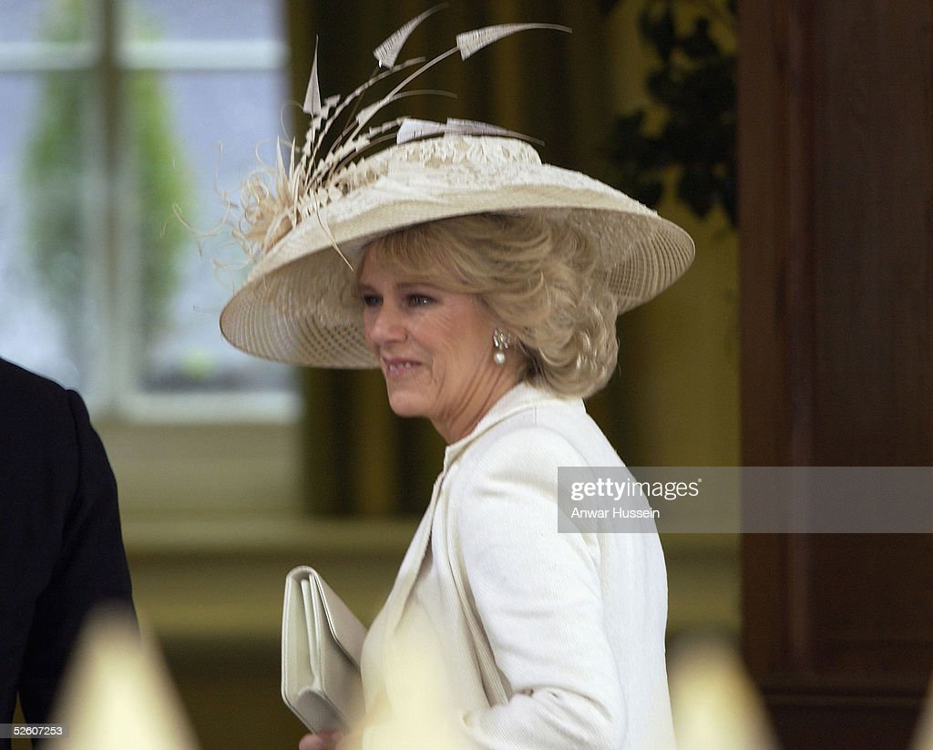 HRH Prince Charles and Mrs Camilla Parker Bowles Marry At Guildhall Civil Ceremony : News Photo