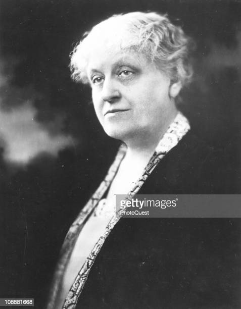 Mrs Carrie Chapman Catt a leader of the American women's suffrage movement which resulted in the adoption of the 19th amendment early twentieth...