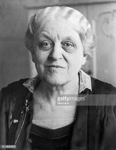 Mrs Carrie Chapman Catt American suffragist who organized and was president of the National American Woman Suffrage Association She also organized...