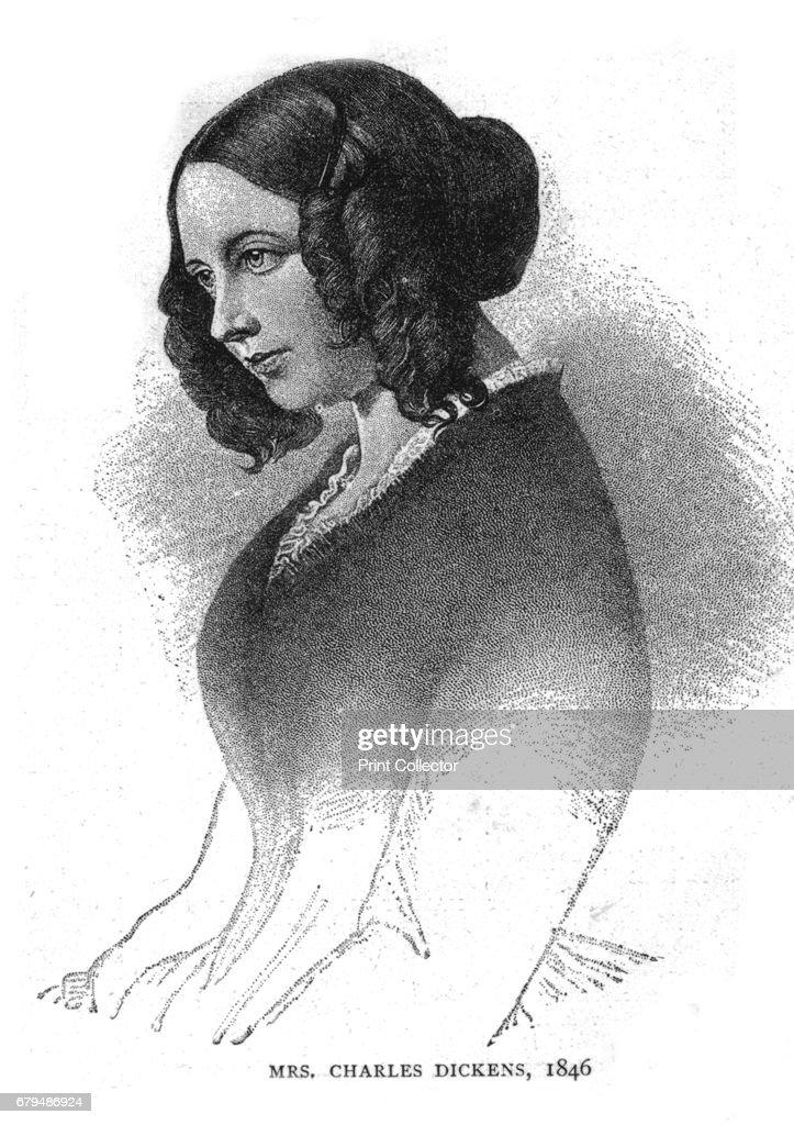 Mrs Charles Dickens 1846 : News Photo