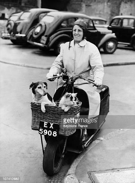 Mrs Clarke And Her Little Family At London In United KingdomEurope On April 13Rd 1949