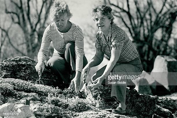 61984 Mrs David fowler and Pete Petersen Right at Denver Botanic Gardens