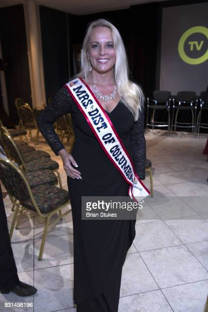 Mrs District of Columbia US Continental 2017 Jillian Short attends 'When Love Kills The Faliciaa Blakely Story' screening at Newton White Mansion on...