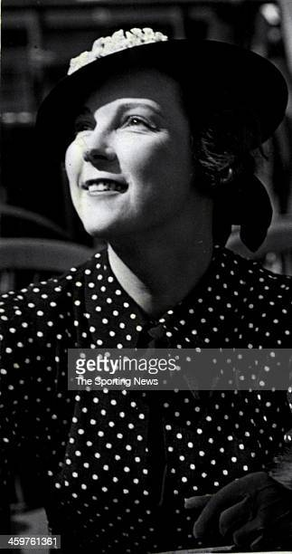 Mrs Eleanor Gehrig wife of Yankee Legend Lou Gehrigcirca 1938 in New York City