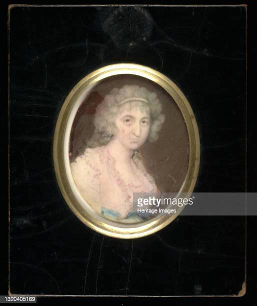 Mrs. Elizabeth Pollock Hartigan, 1795. Artist Walter Robertson.