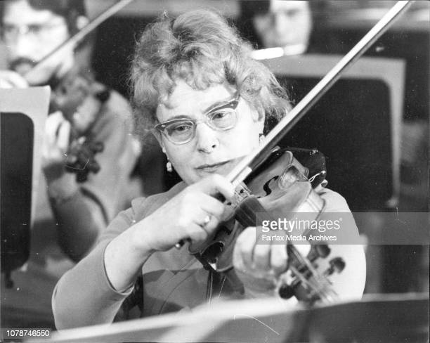 Mrs Ermolenko at rehearsal this morningParents of the young Russian Violinist Georgi Ermolenko Mr Georgi and Mrs Ludmilla Ermolenko rehearsed with...