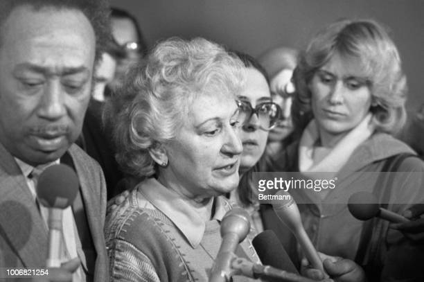 Mrs Eugenia Godzik mother of one of John Wayne Gacy's victims has mixed emotions after a guilty verdict was brought in Gacy was found guilty of...