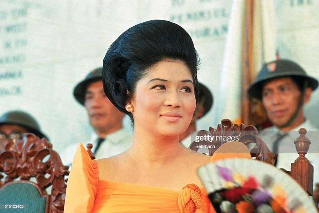 Portrait of Imelda Marcos : News Photo