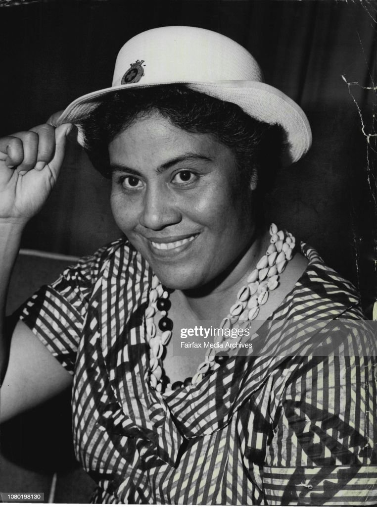 Mrs Fiame Mata Afa Of Western Samoa â œthe Teaching Old