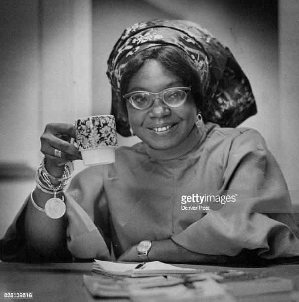 Mrs Flora Nwapa Nwakuche Nigerian Author Credit Denver Post