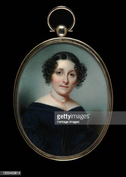Mrs. Francis Barton Stockton, circa 1840. Artist Hugh Bridport.