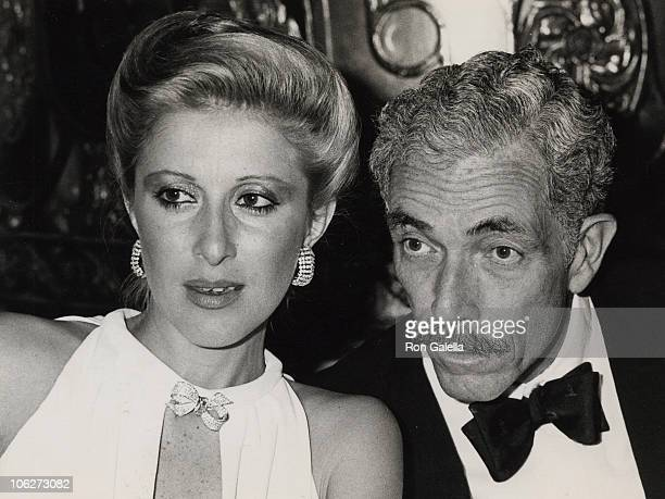 Mrs. Francis Kellogg and guest during Lindbergh Awards Dinner - May 22, 1979 at Plaza Hotel in New York City, New York, United States.