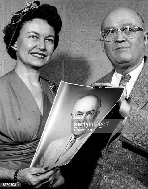 Mrs Francis Van Derbur And John Griffith Photo Is Of The Late George W Dinger Who Was Honored Along With Griffith And Six Others By The Geneva Glen...