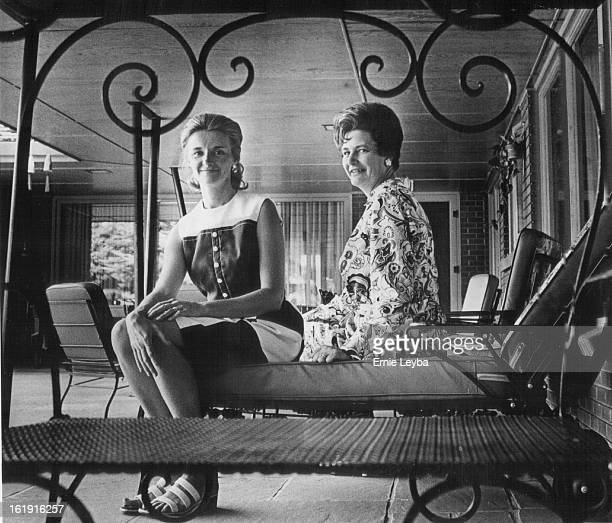 JUN 19 1972 JUN 27 1972 JUL 2 1972 Mrs Frank Brainerd left and Mrs William Argall are planners of July 25 benefit for Salvation Army Camp Elephant...