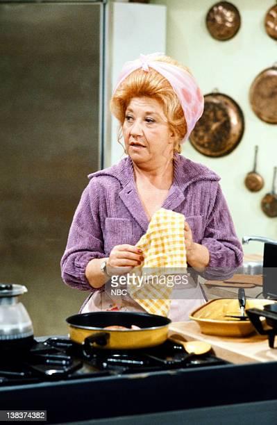 RENT STROKES Mrs Garrett's Romance Episode 5 Pictured Charlotte Rae as Edna Garrett