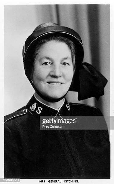 Mrs General Kitching c1930sc1940s Kathleen Bristow who married Wilfred Kitching the seventh General of the Salvation Army in 1929