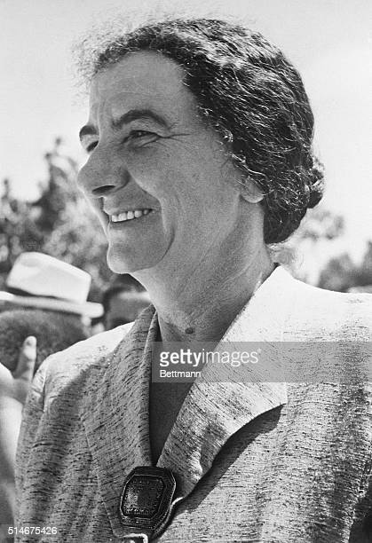 Mrs Golda Myerson former Milwaukee school teacher who was named Foreign Minister of Israel 6/18/1956