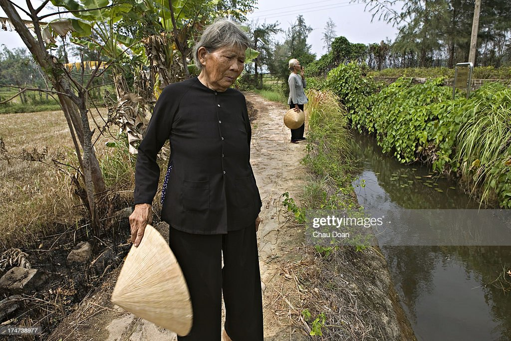 My Lai Massacre - War with Vietnam : News Photo