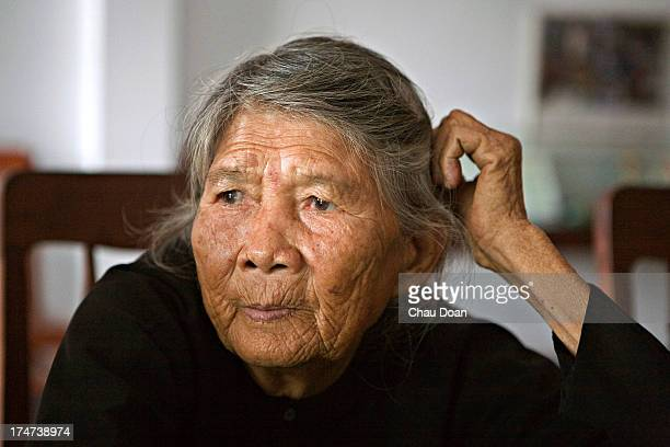 Mrs Ha Thi Quy is a survivor of the My Lai massacre at the Thuan Yen ditch Her mother a daughter and a son were killed in the massacre of 504...