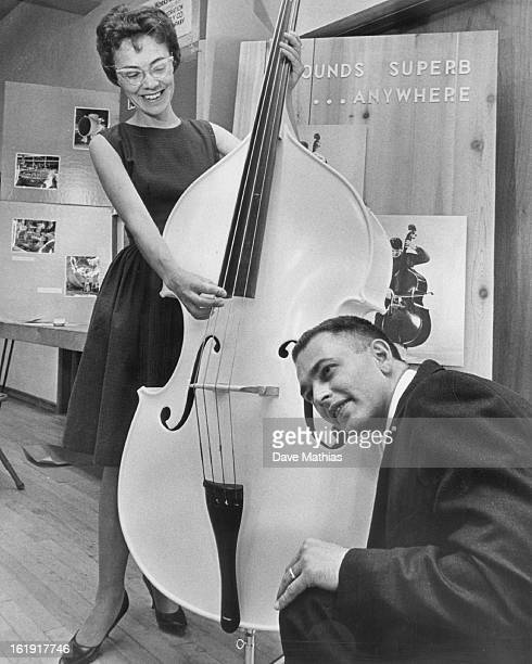 MAY 21 1964 JUN 10 1964 Mrs Hal Nollete of 6042 S Aberdeen St Littleton plunks a note for Lee Bennet 4725 S Lipan St Englewood Chamber of Commerce...