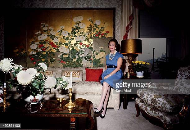 Mrs Harry Winston at home on May 5 1968 in New York New York