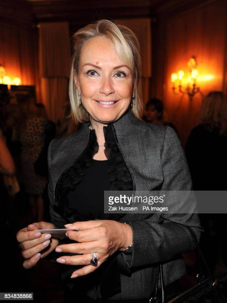 Mrs Heini AlFayed at the AMAR International Charitable Foundation Armani Charity Show in aid of child orphans in Iraq at the Dorchester Hotel Park...