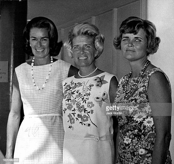AUG 12 1965 MAY 10 1966 OCT 18 1967 Mrs Iovr Carl Peterson East bound June travelers will include Mrs Ivor Carl Peterson who will fly to New York...