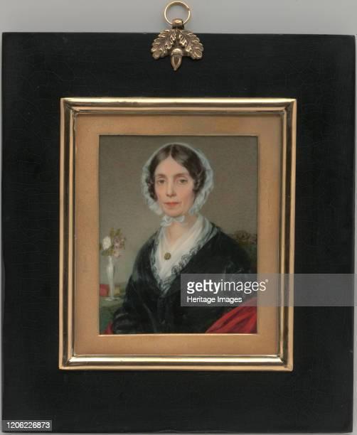 Mrs Israel Thorndike 1843 Artist George Lethbridge Saunders