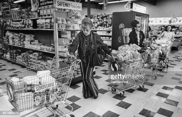 Mrs James Jones whose husband founded Casper Troopers shops with Mrs Bailey and assistant Food in baskets came to $21646 and will provide the day's...