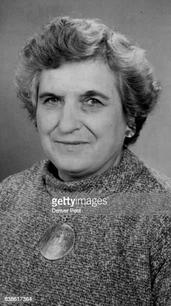 Mrs John R Fiore For the work which won her a 1969 AMITA achievement award Mrs Fiore is executive director of the Colorado Division United Nations...