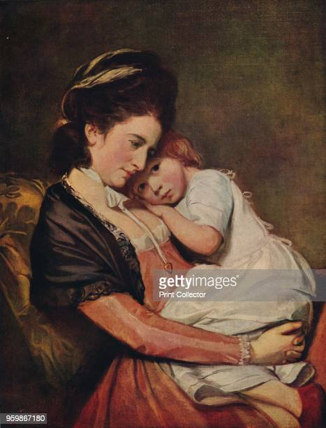 Mrs Johnstone and her Son ' 17751780 The painting is held by the Tate Gallery London From International Art Past and Present by Alfred Yockney...