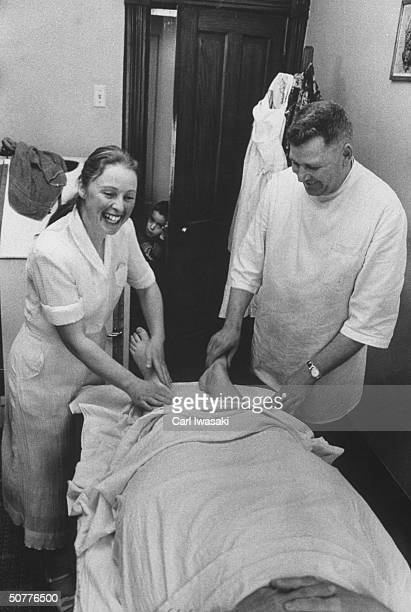 Mrs Joyce Wilde Lloyd Wild operating a Swedish Massage parlor