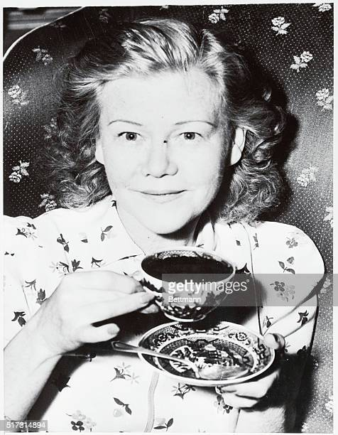 Mrs Lela Rogers mother of Ginger Rogers the movie star calmly had a cup of tea and said It's up to him when asked whether she and J Edgar Hoover...