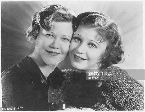 Mrs Lela Rogers with daughter actress Ginger Rogers