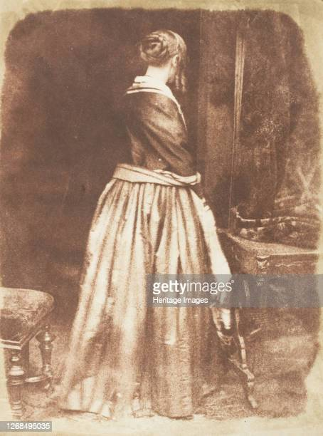 Mrs Marian Murray 184347 Artist David Octavius Hill Robert Adamson Hill Adamson