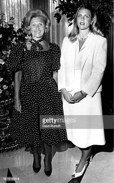 AUG 26 1981 AUG 27 1981 Mrs Marvin Davis and daughter Mrs Nebil Zarif The Carousel Ball has banked nearly $1 million in preinvitation sales