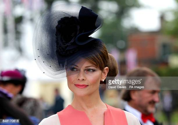 Mrs Max McNeill on Ladies Day on Ladies day at the 2012 Royal Ascot meeting at Ascot Racecourse, Berkshire.