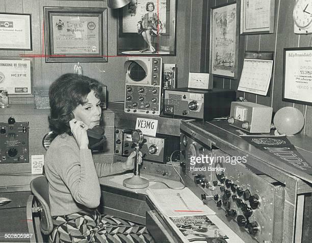 Mrs Miriam Gillier Broadcast to Managua