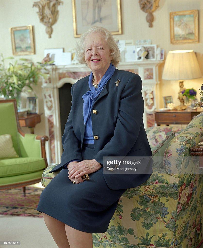 Mrs Monro, of interior design company Mrs Monro Ltd, 28th June 1996.