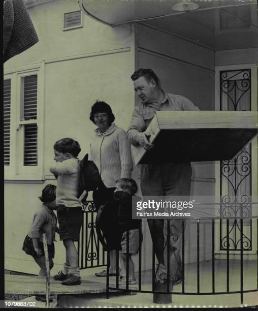Mrs Pamela McLeodLindsay Children are Andrew McLeod Bruce and Alyson Leaning the Sylvania home August 25 1965