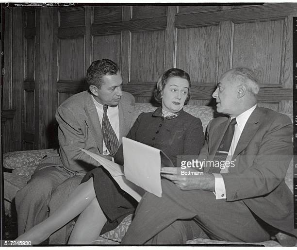 Mrs Patricia Heller who was accused 11/21 by her divorced husband John A Heller of committing adultery with Heller's father Walter E a millionaire...