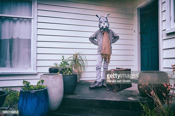 Mrs rabbit set off on her travels