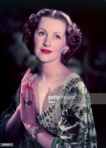 Mrs Raine Legge the daughter of authoress Barbara Cartland wife of Gerald Legge and later Countess Spencer stepmother of Princess Diana