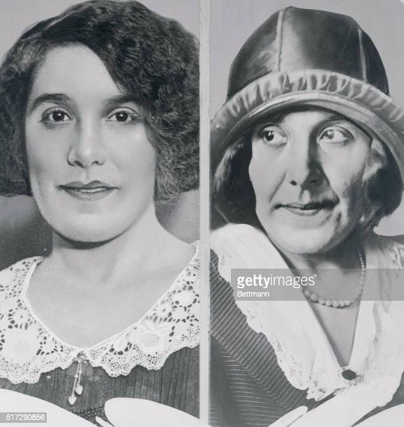 Mrs Rhinelander then and now New York Alice Rhinelander Kip's bride is showing the effects of the strain of the sensational trial Above at the left...