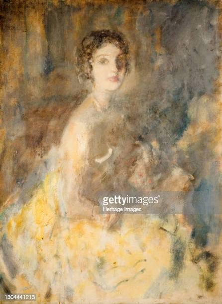 Mrs Richard Jessel, 1921. Artist Ambrose McEvoy.